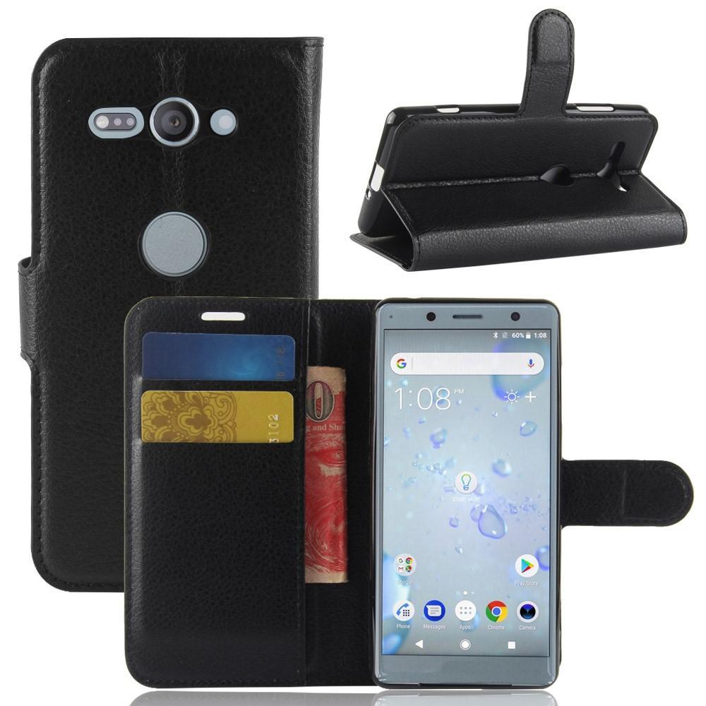Mobilfodral Sony Xperia XZ2 Compact svart