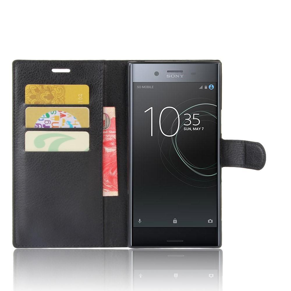 Mobilfodral Sony Xperia XZ Premium svart