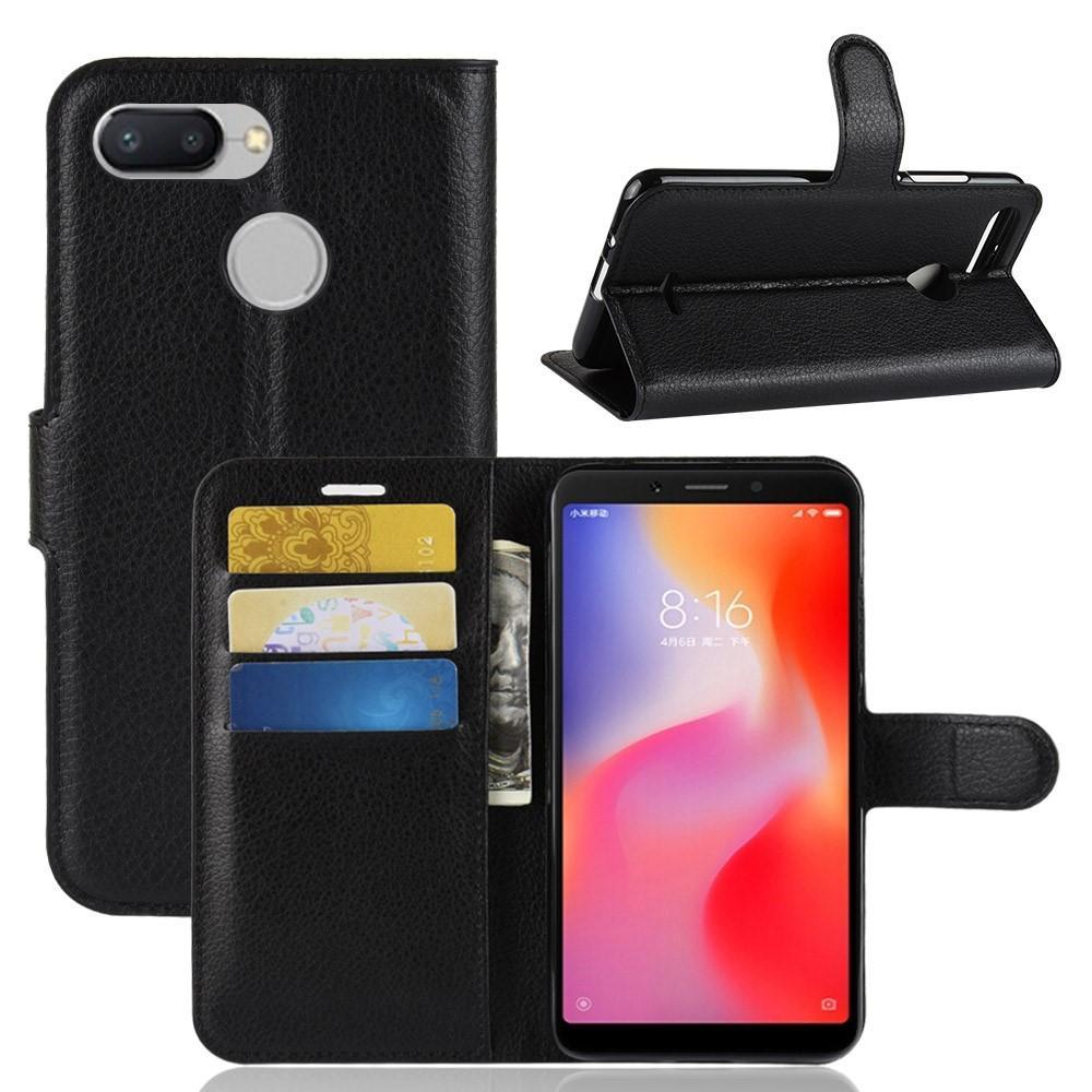 Mobilfodral Xiaomi Redmi 6 svart
