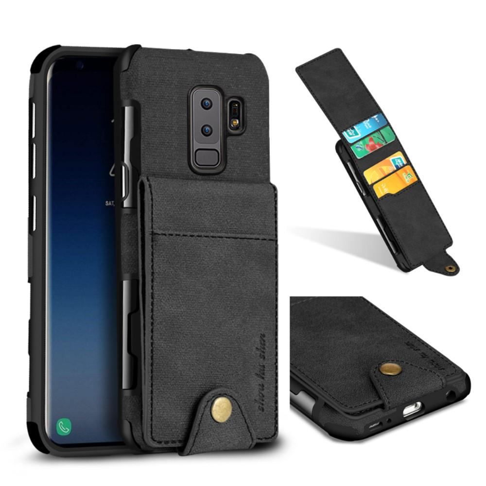 Multi-slot Card Case Samsung Galaxy S9 Plus svart