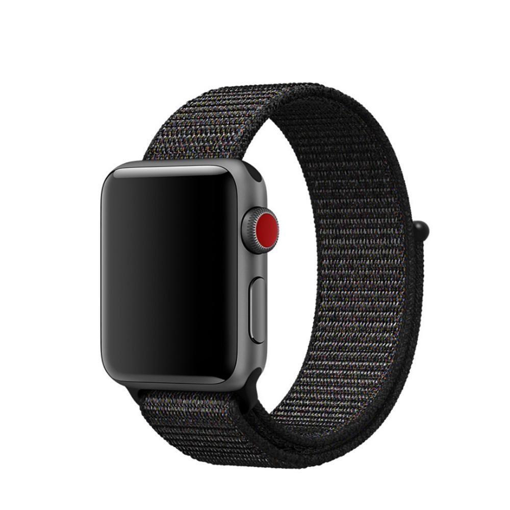 Nylonarmband Apple Watch 38/40 mm svart