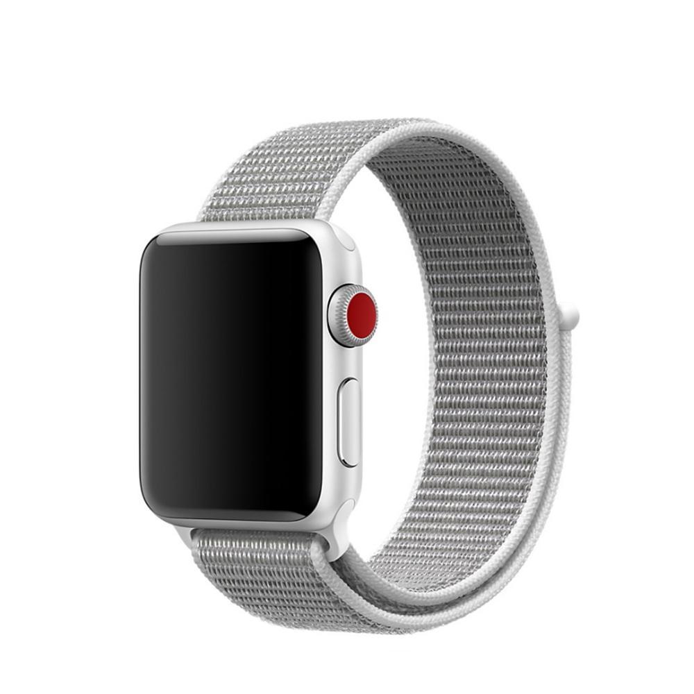 Nylonarmband Apple Watch 42/44 mm vit