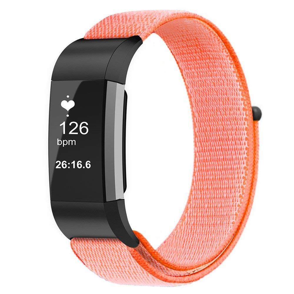 Nylonarmband Fitbit Charge 3/4 orange
