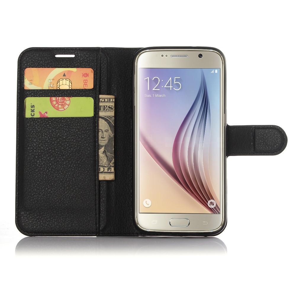 Plånboksfodral Samsung Galaxy S7 svart