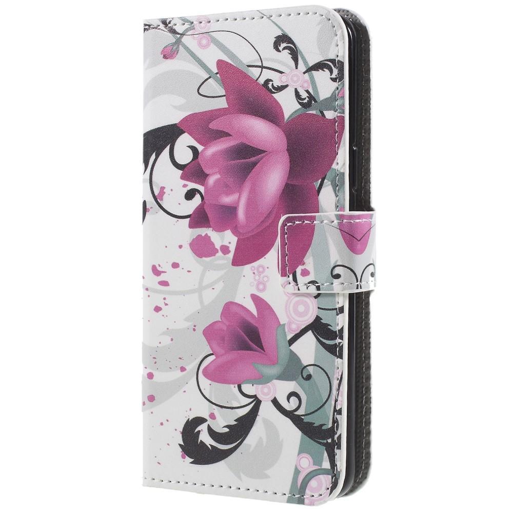 Plånboksfodral Samsung Galaxy S9 flowers