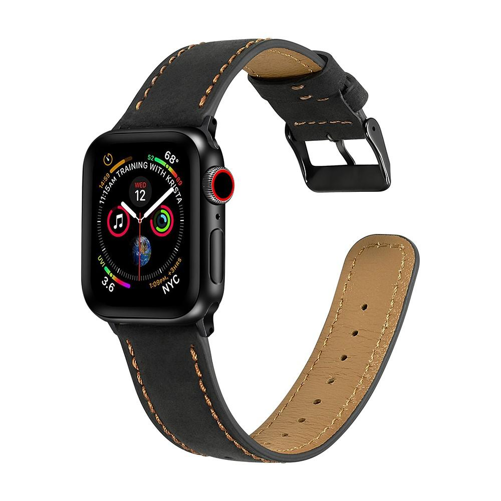 Retro Armband Apple Watch 42/44 mm Black
