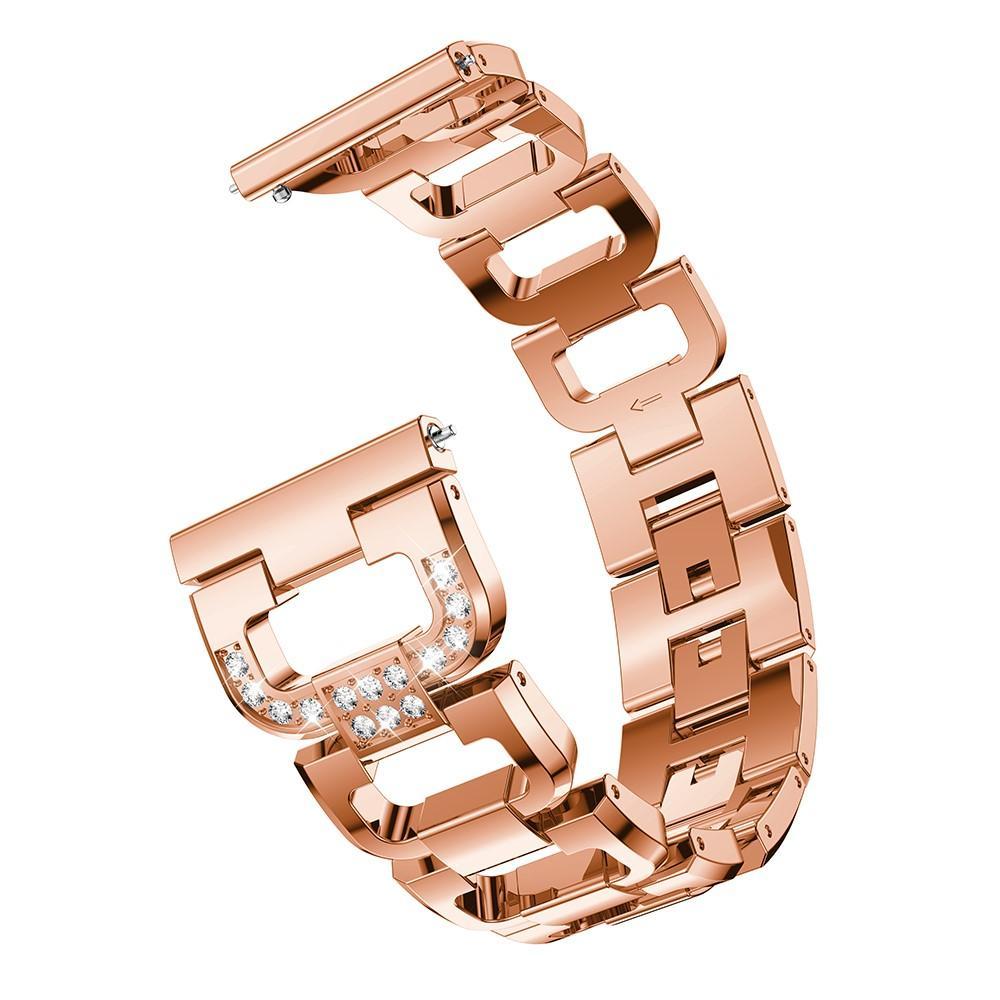 Rhinestone Bracelet Galaxy Watch 46mm/Gear S3 Rose Gold