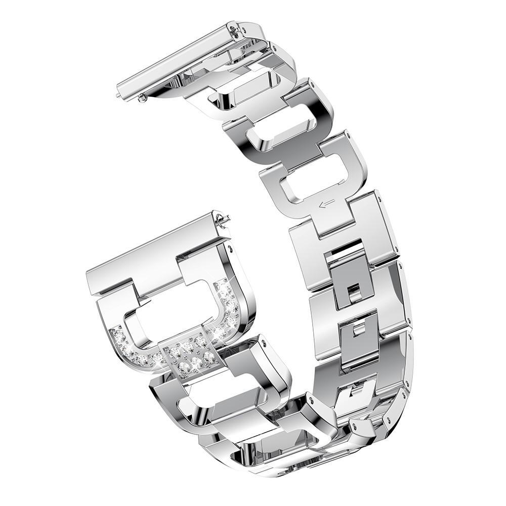 Rhinestone Bracelet Huawei Watch GT/GT 2 46mm/GT 2e Silver