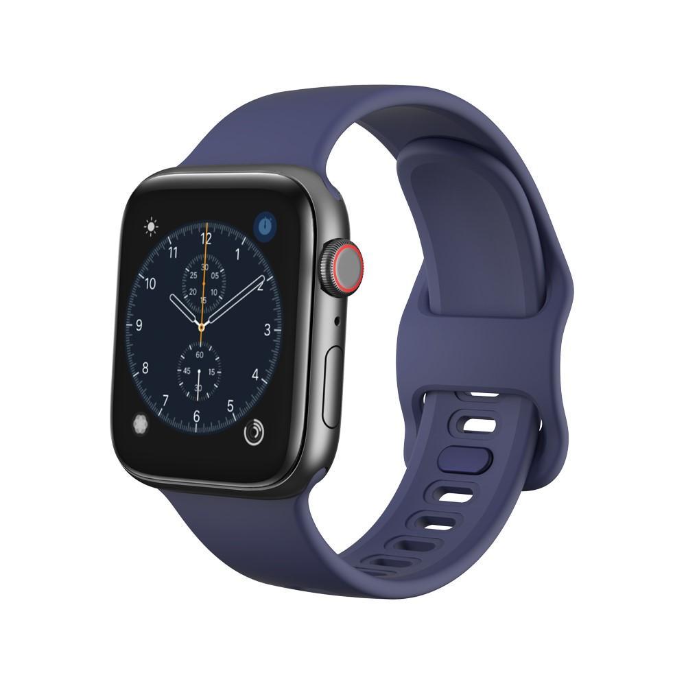 Silikonarmband Apple Watch 38/40/41 mm blå