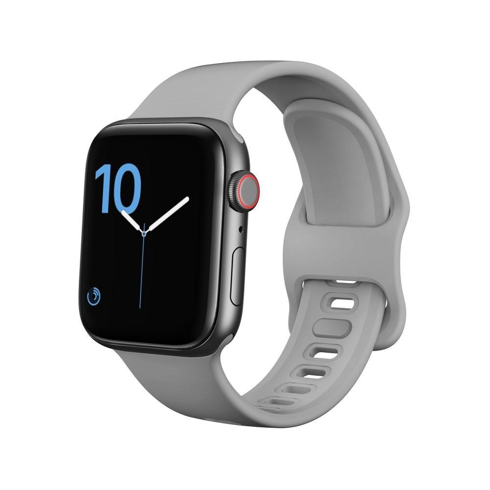 Silikonarmband Apple Watch 42/44 mm grå