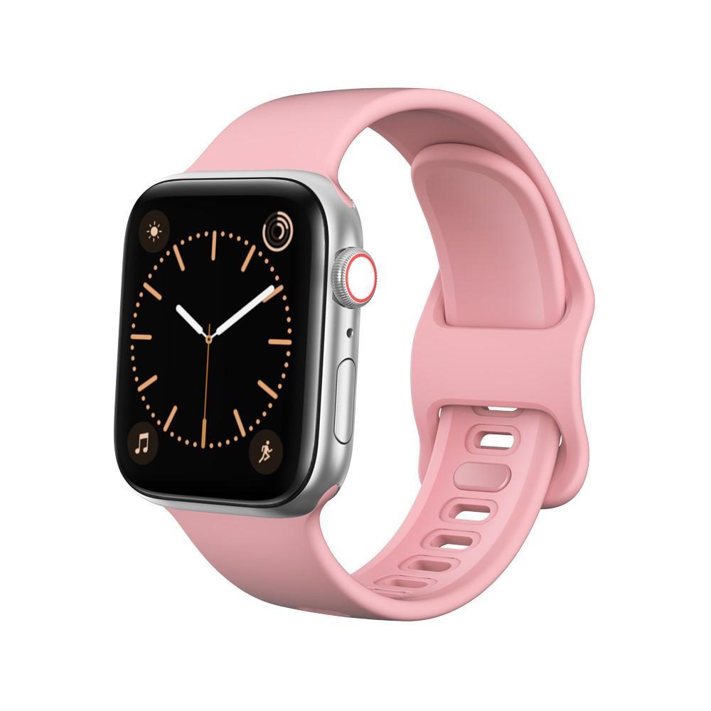 Silikonarmband Apple Watch 42/44 mm rosa