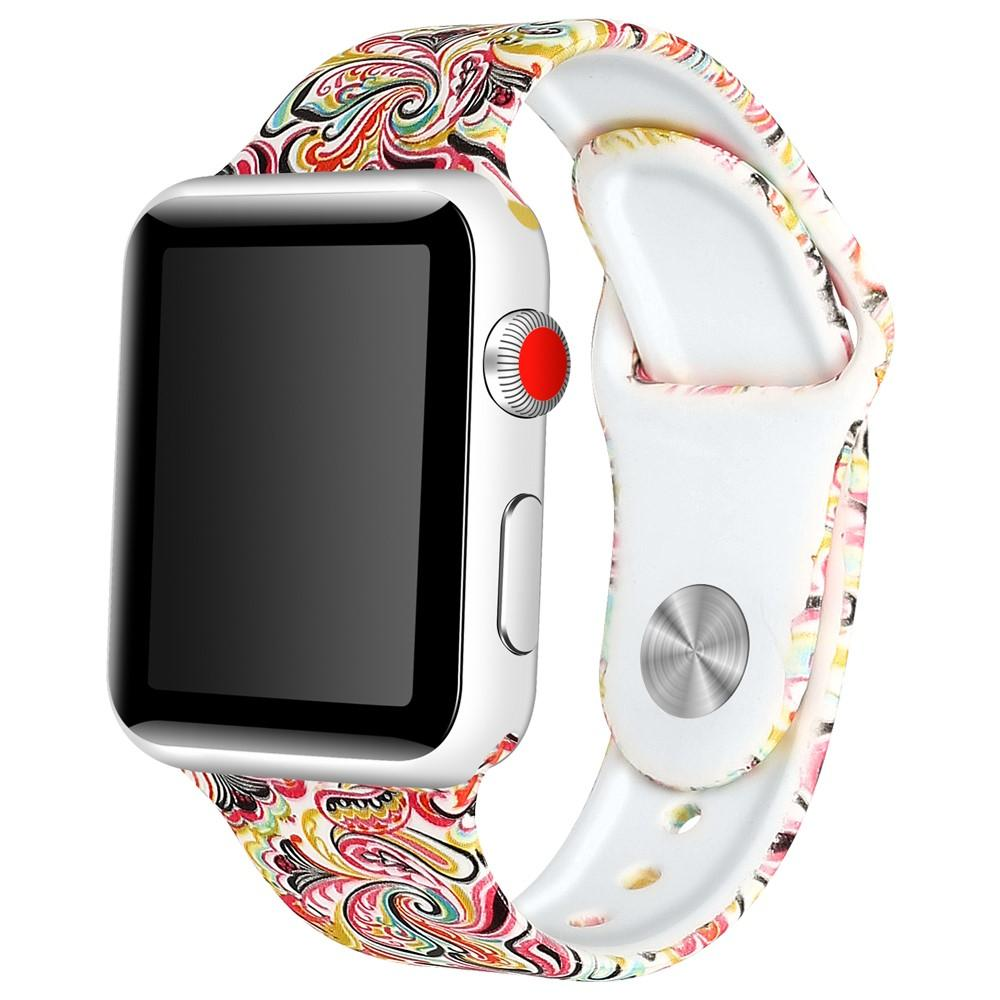 Silikonarmband Apple Watch 42/44 mm paisley