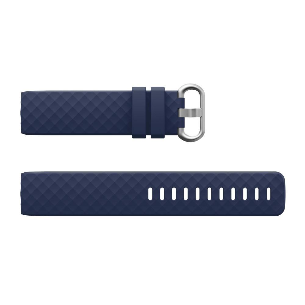 Silikonarmband Fitbit Charge 3/4 blå
