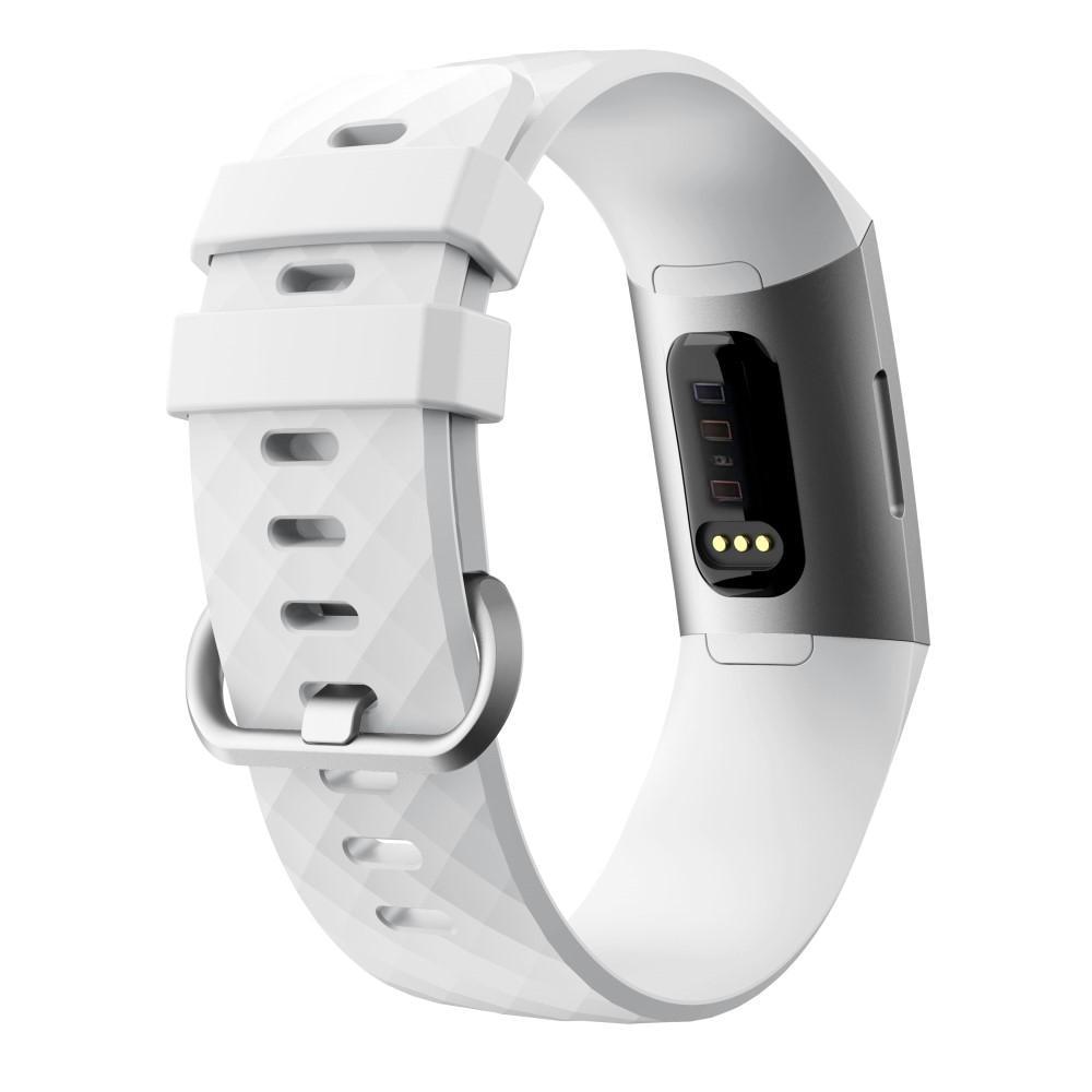 Silikonarmband Fitbit Charge 3/4 vit