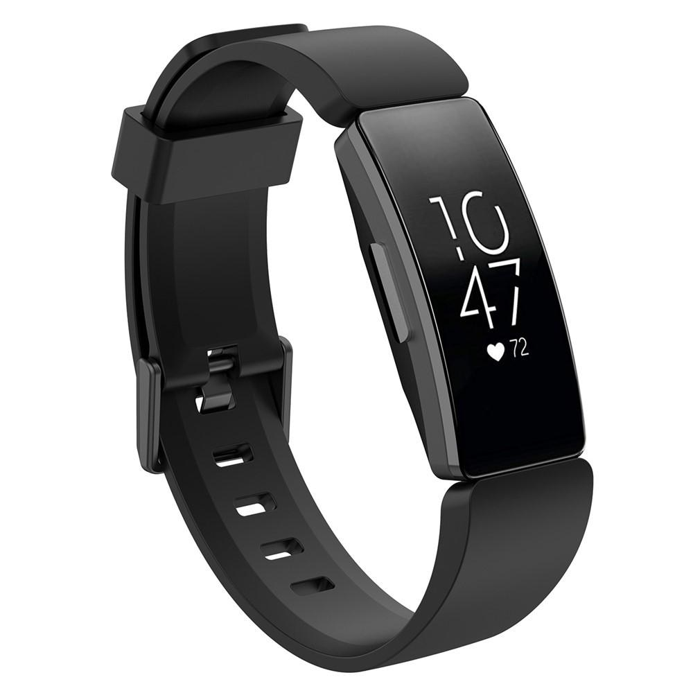 Silikonarmband Fitbit Inspire/Inspire HR/Inspire 2 svart