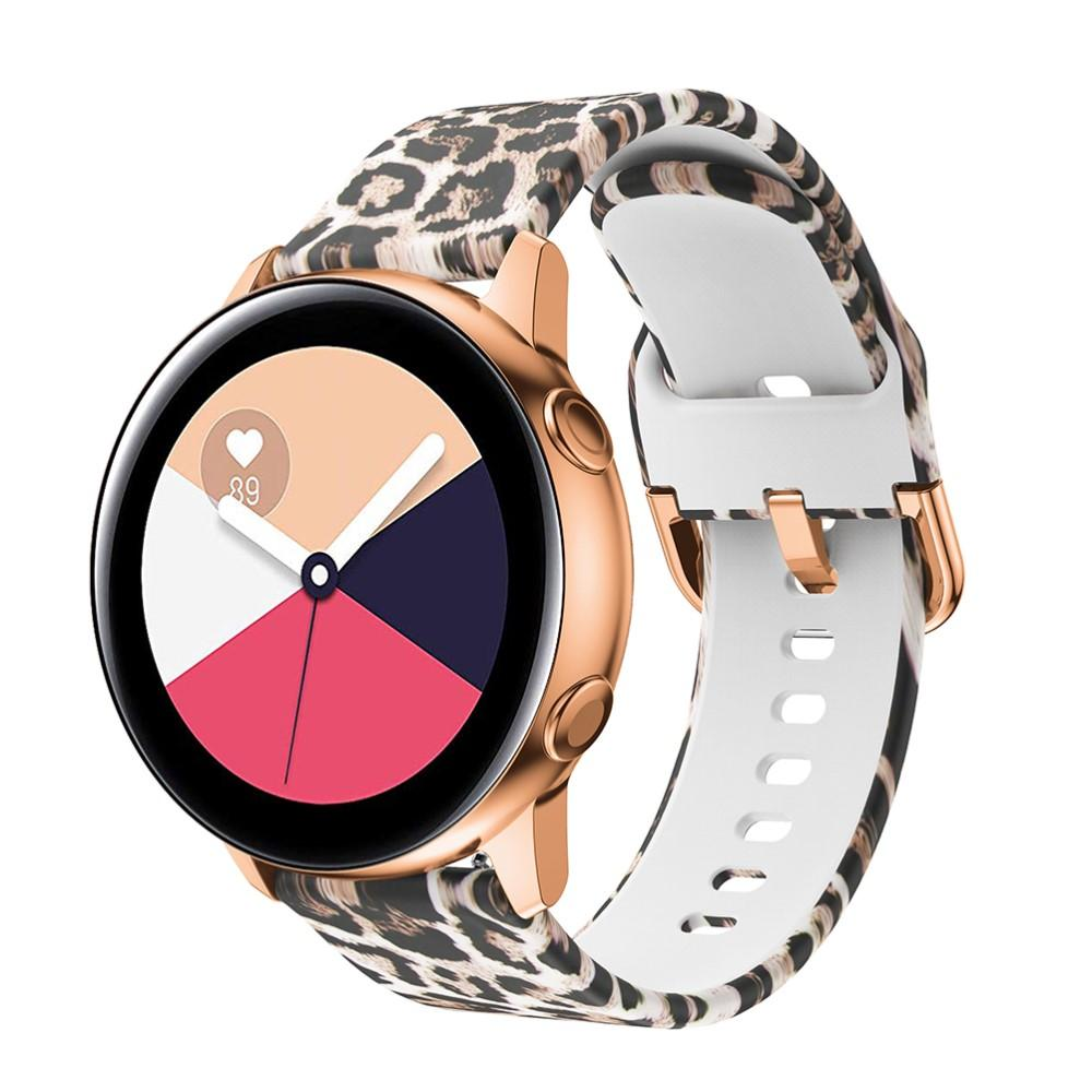 Silikonarmband Galaxy Watch 42mm/Active leopard