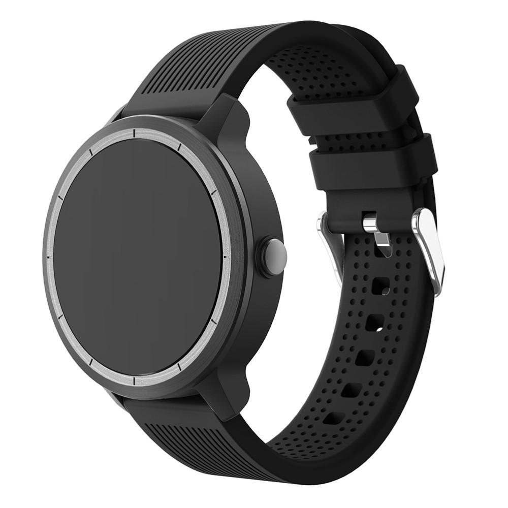 Silikonarmband Garmin Vivoactive 3/Venu svart