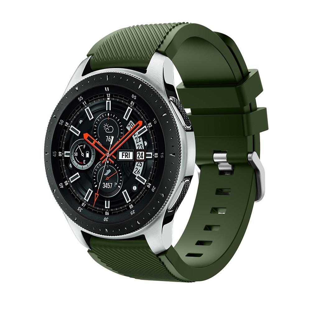 Silikonarmband Samsung Galaxy Watch 46mm grön