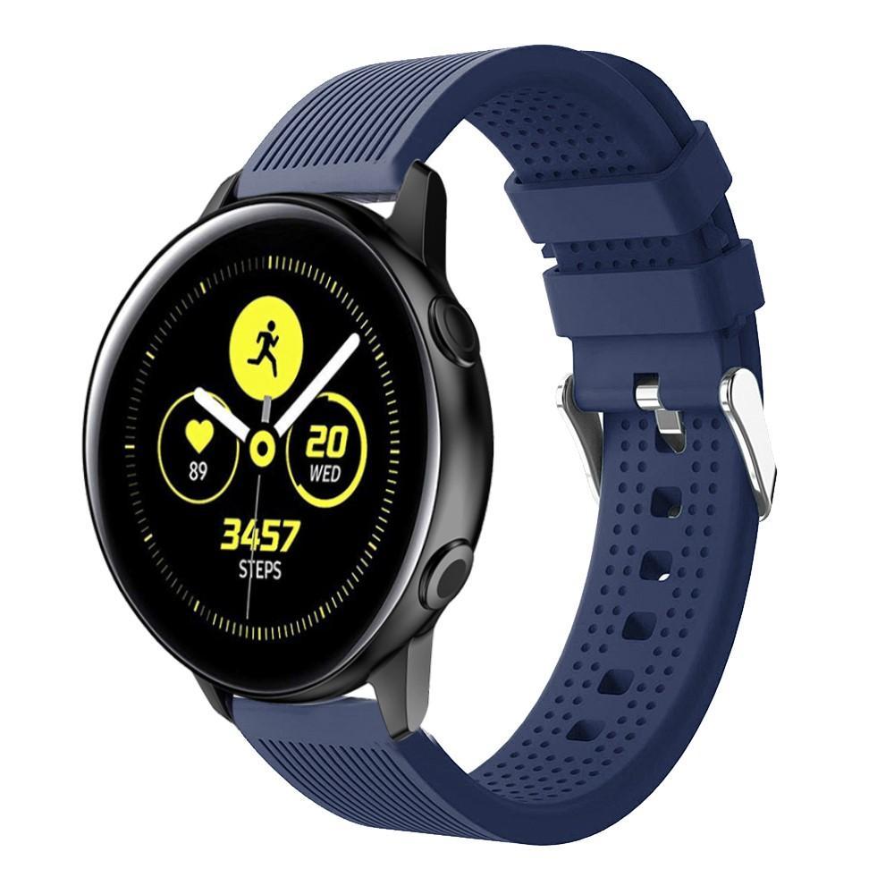 Silikonarmband Samsung Galaxy Watch Active blå