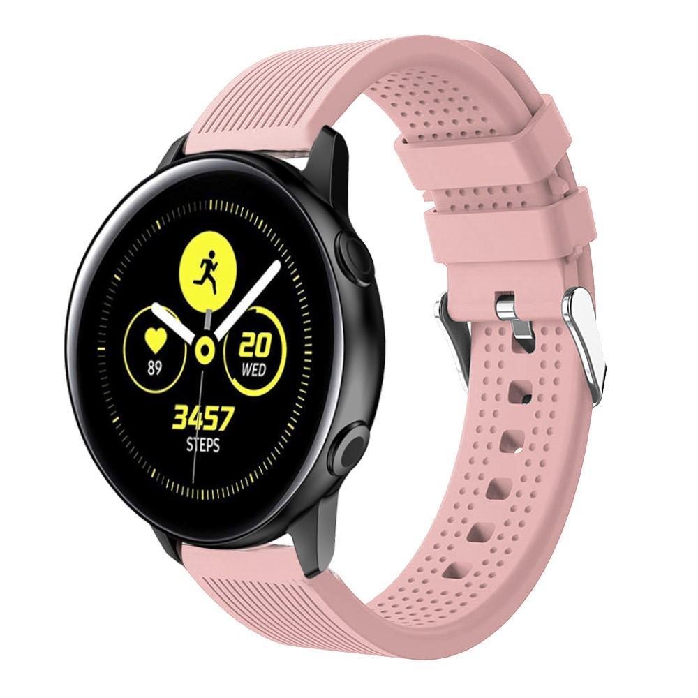 Silikonarmband Samsung Galaxy Watch Active/42mm rosa