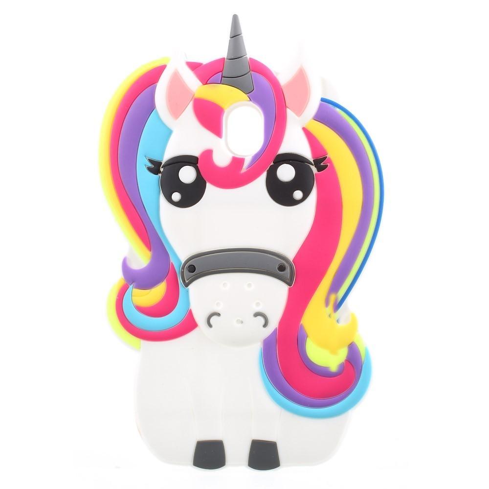 Silikonskal 3D Samsung Galaxy J7 2017 unicorn