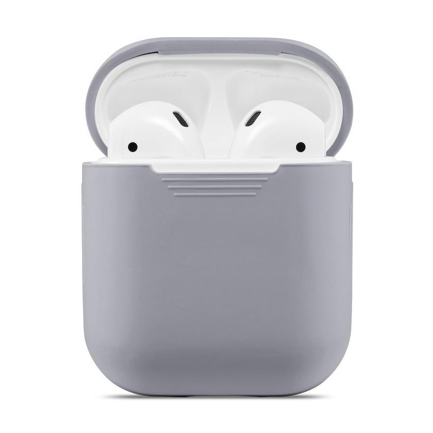 Silikonskal Apple AirPods grå