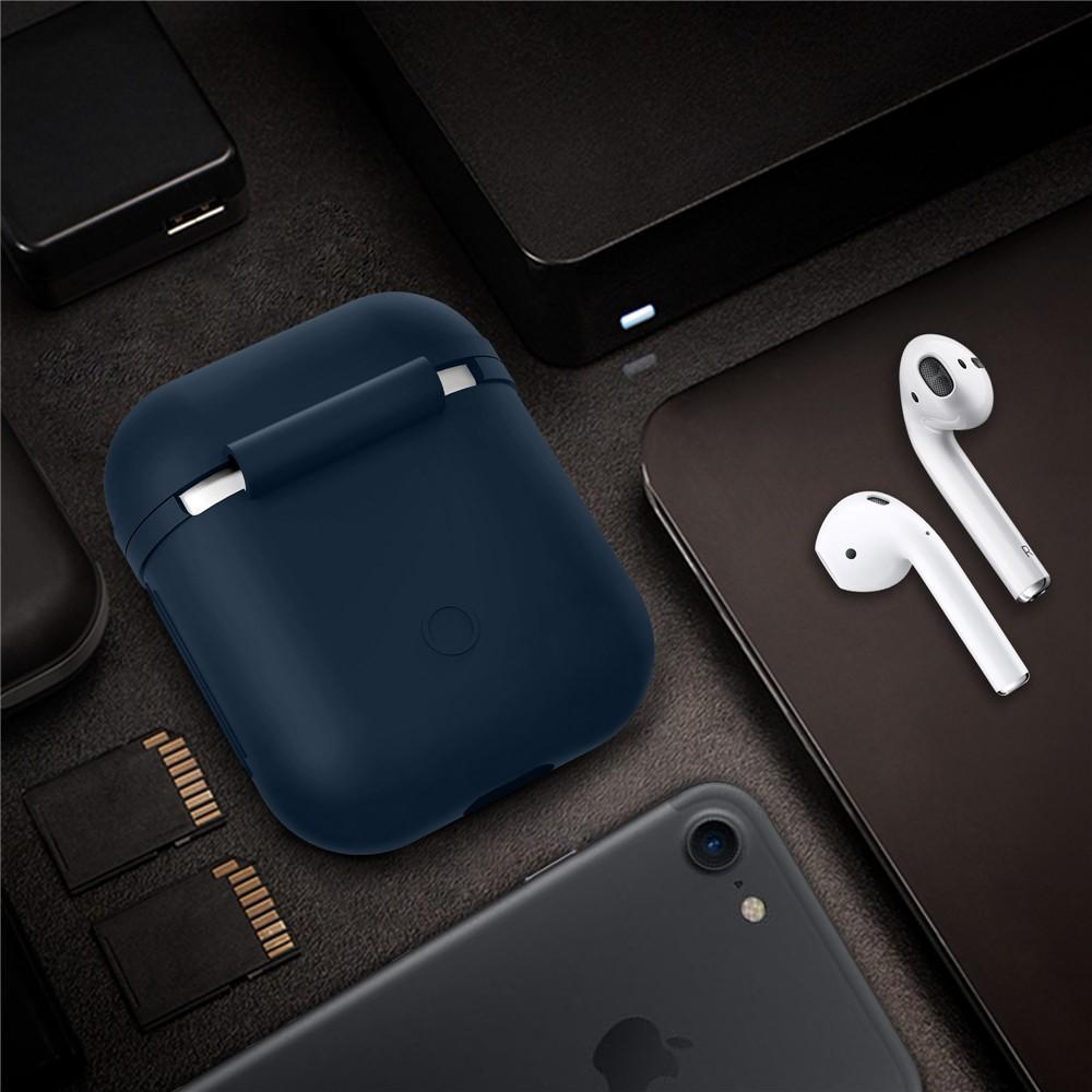 Silikonskal Apple AirPods marinblå