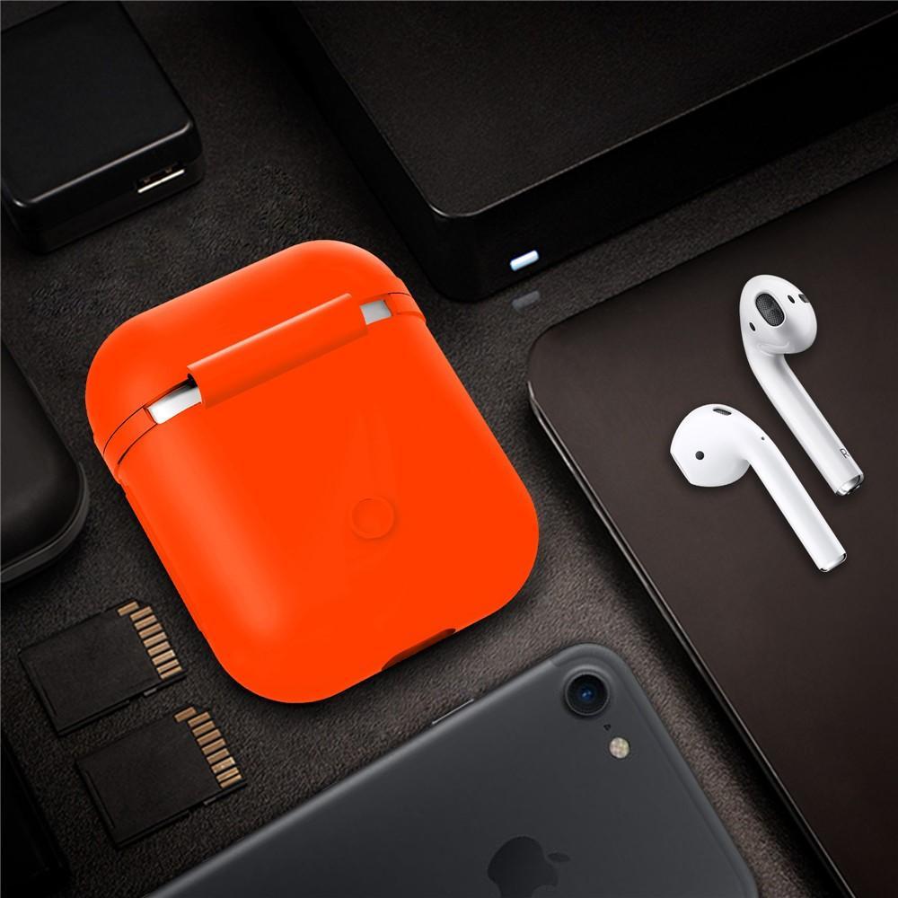 Silikonskal Apple AirPods orange