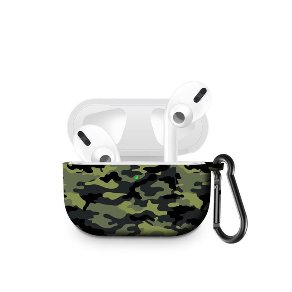 Silikonskal med karbinhake Apple AirPods Pro kamouflage