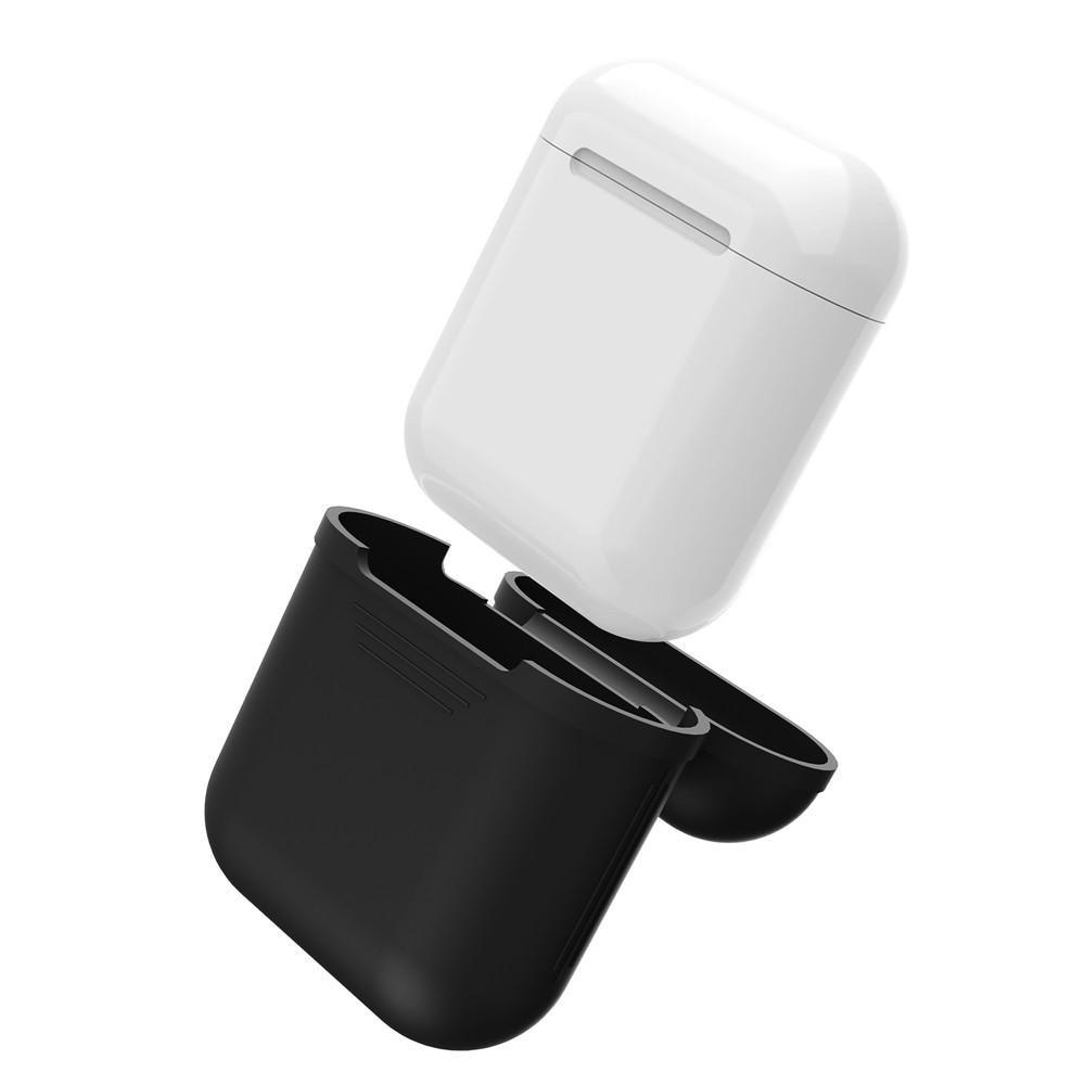 Silikonskal Apple AirPods svart