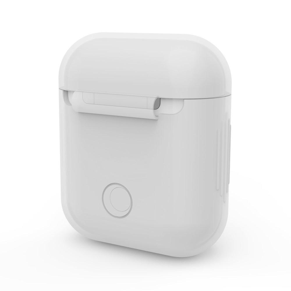 Silikonskal Apple AirPods vit
