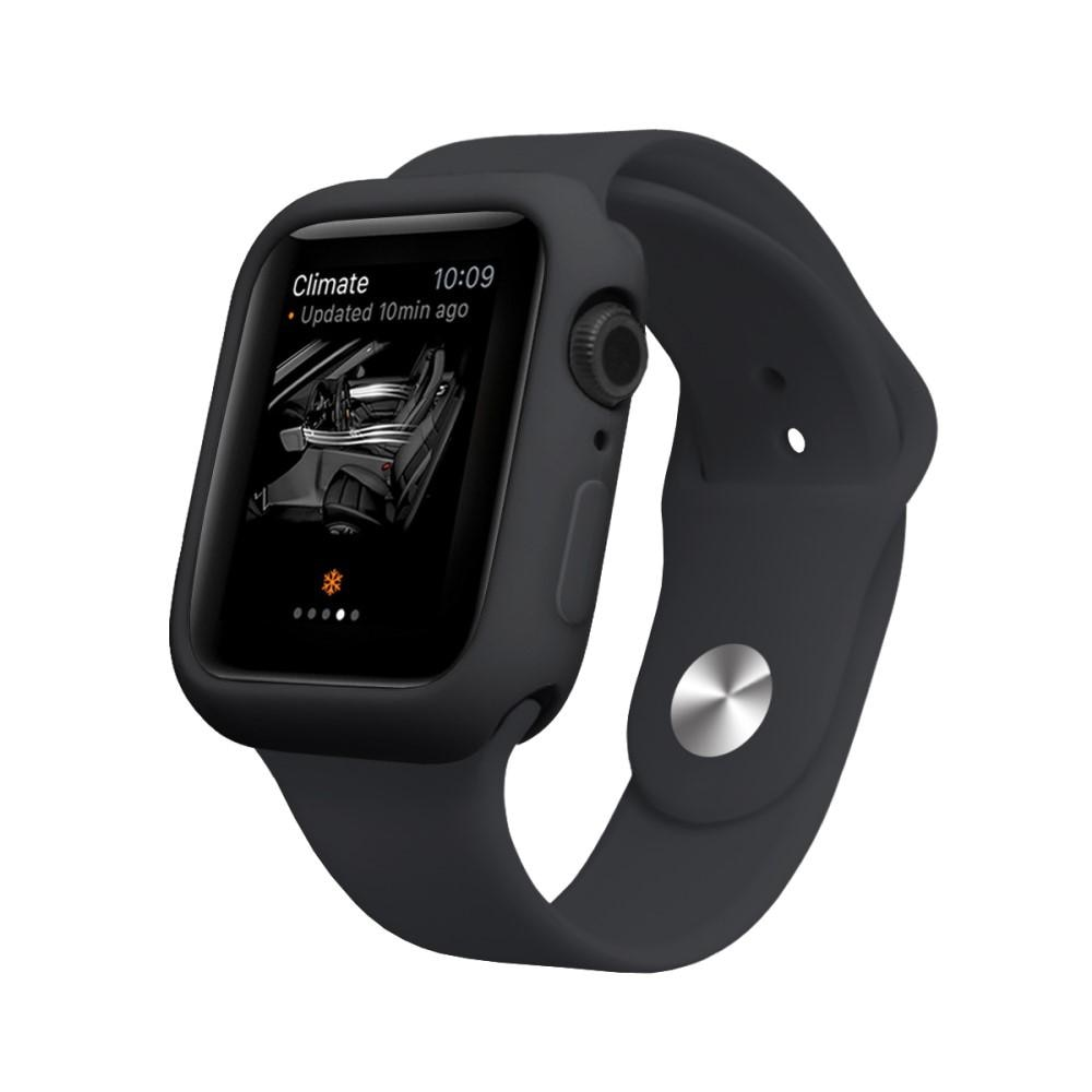Silikonskal Apple Watch 44mm svart
