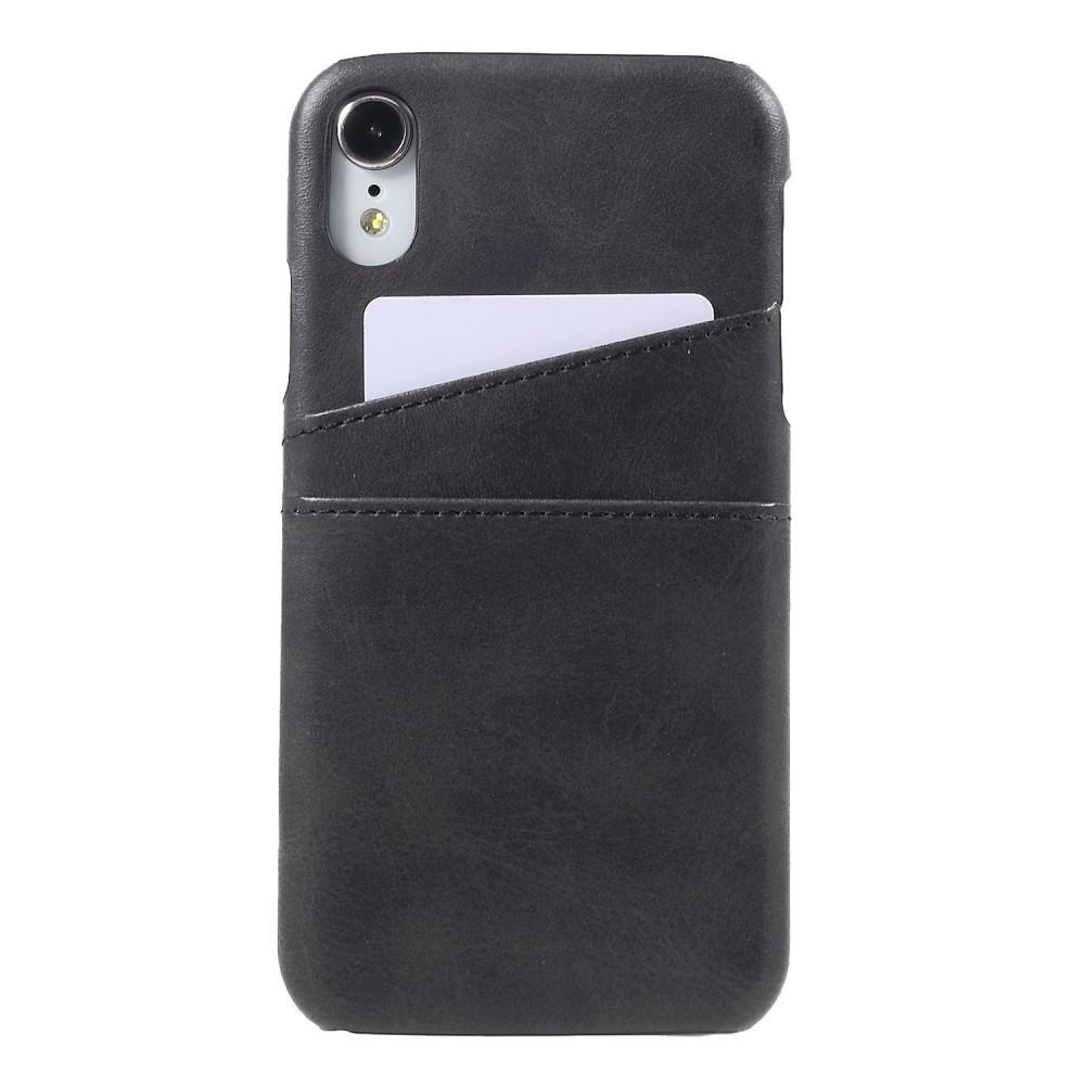 Card Slots Case Apple iPhone XR svart