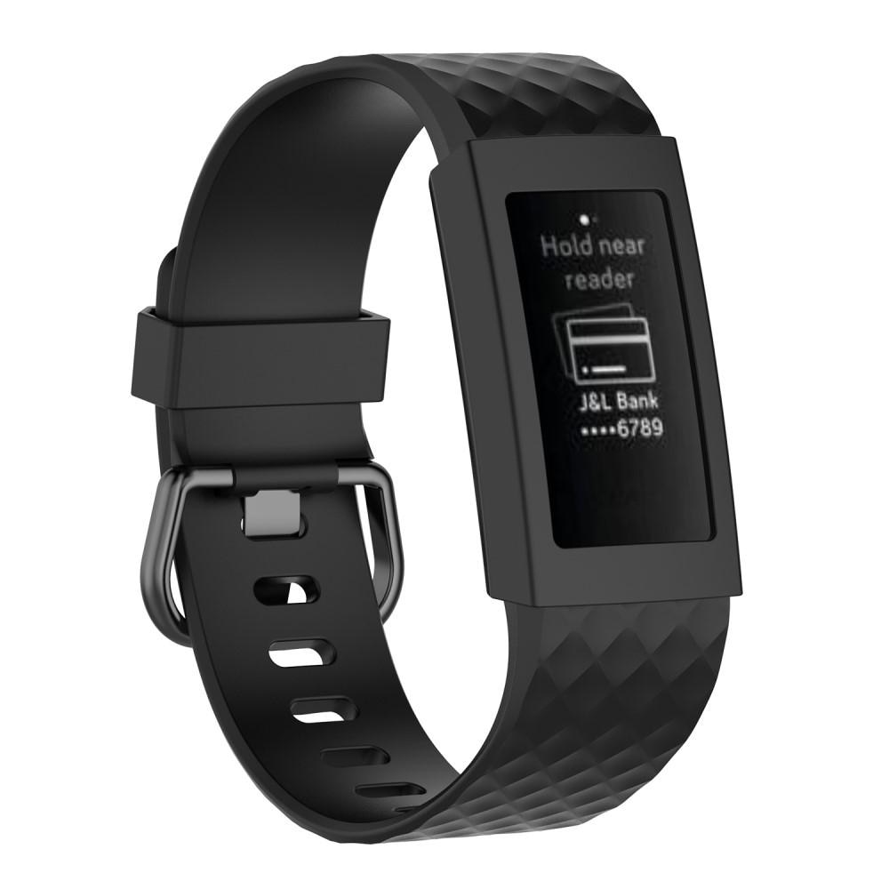 Skal Fitbit Charge 3/4 svart