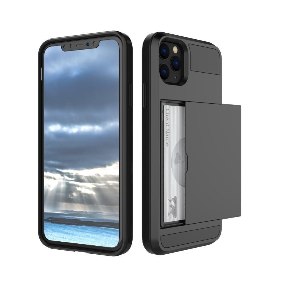 Skal Kortfack Apple iPhone 11 svart