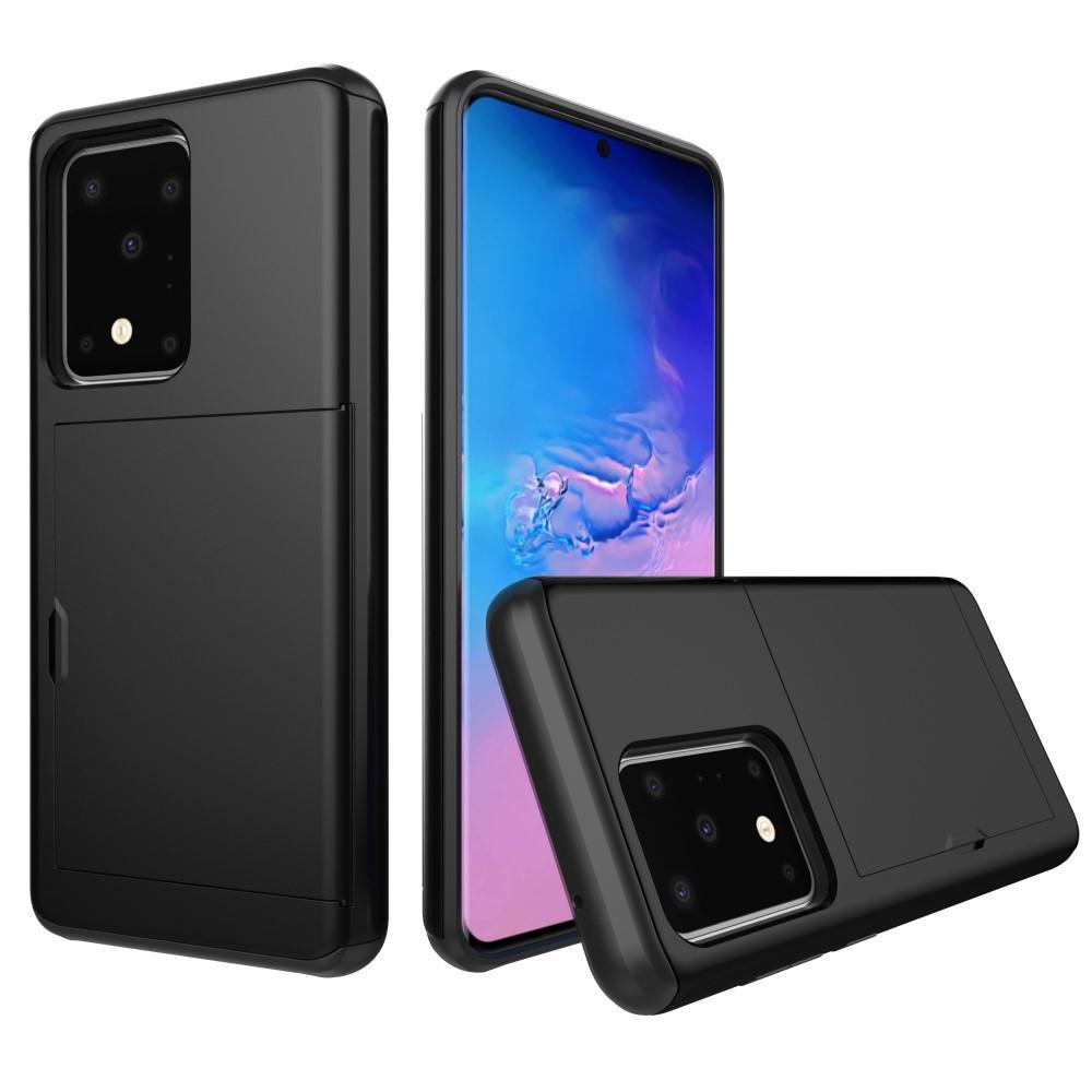 Skal Kortfack Samsung Galaxy S20 Ultra svart