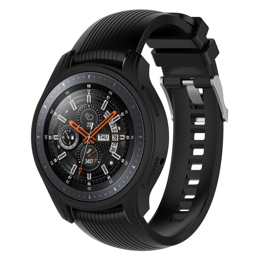 Skal Samsung Galaxy Watch 46mm/Gear S3 Frontier svart