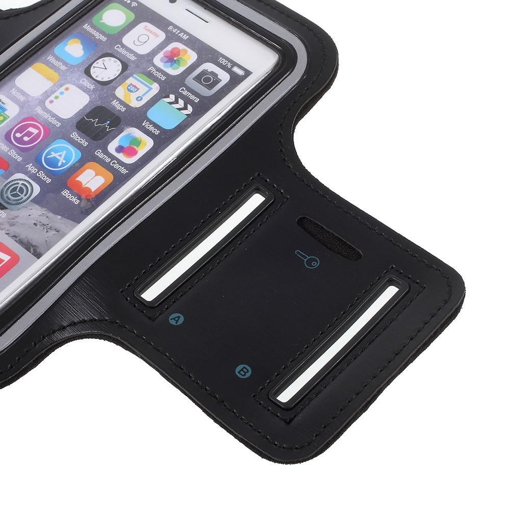 Sportarmband iPhone 6/6S/7/8/SE 2020 svart