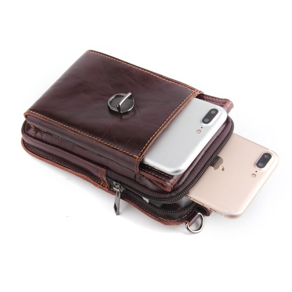 Vintage Mobilväska Universal brun