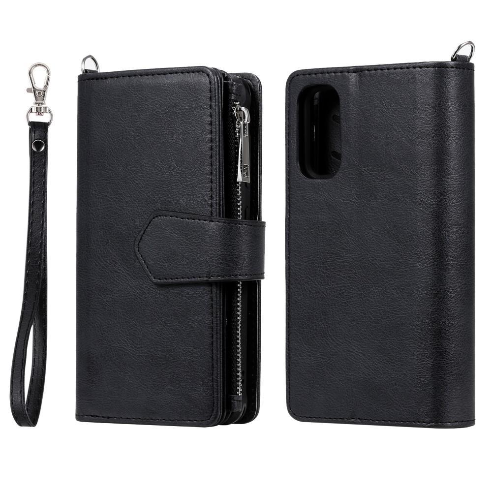 Zipper Magnet Wallet Galaxy S20 svart
