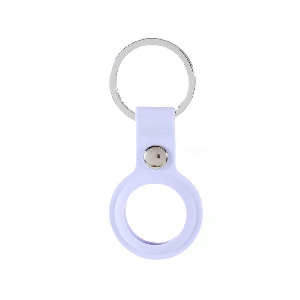 AirTag Keychain Case Purple