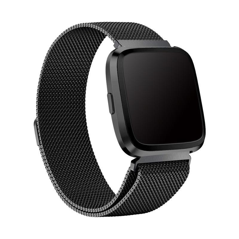 Armband Milanese Fitbit Versa 3/Sense svart