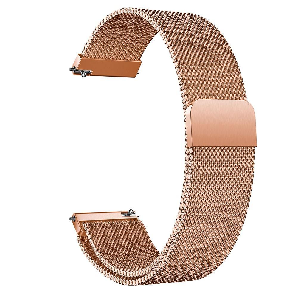 Armband Milanese Huawei Watch GT 2 42mm roséguld