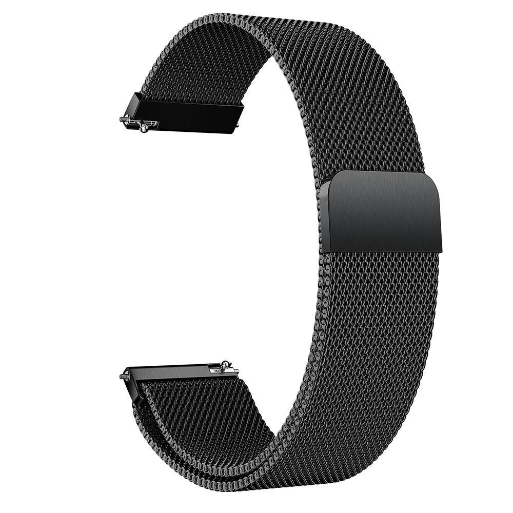 Armband Milanese Huawei Watch GT 2 42mm svart