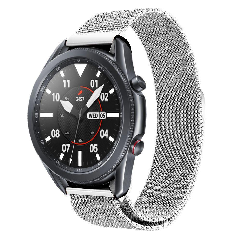 Armband Milanese Samsung Galaxy Watch 3 45mm silver