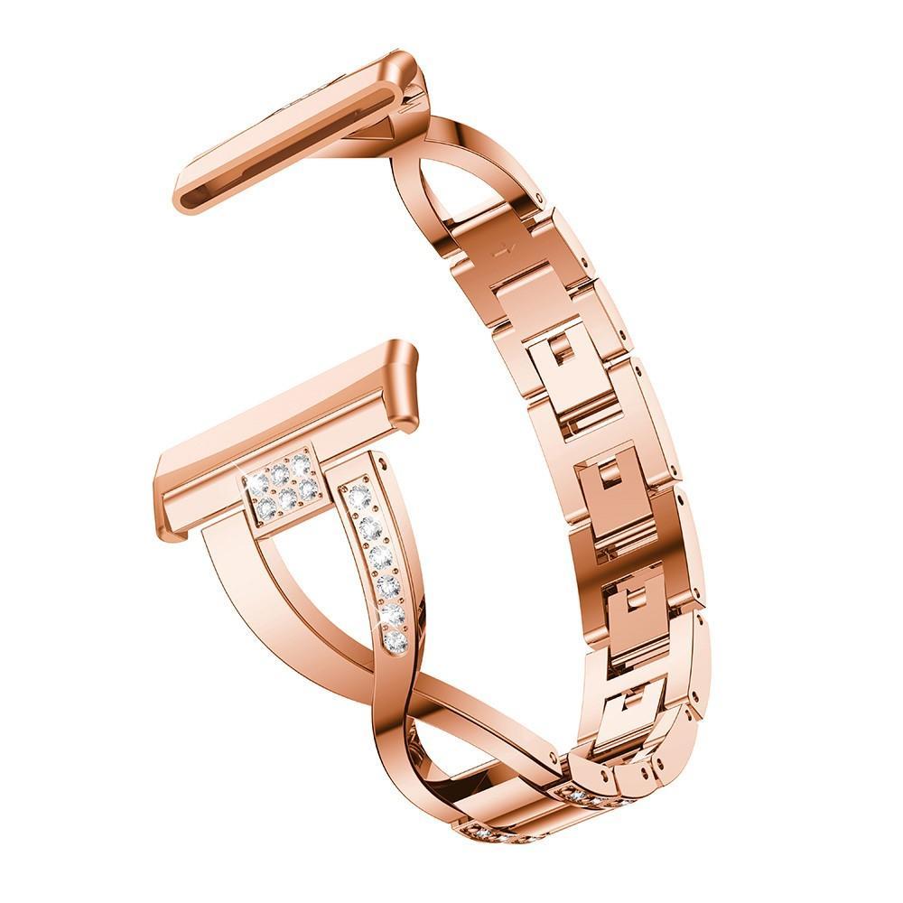 Crystal Bracelet Fitbit Versa 3/Fitbit Sense Rose Gold