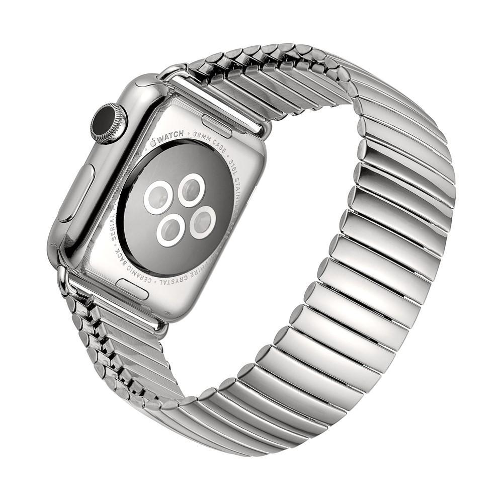 Elastiskt Metallarmband Apple Watch 38/40 mm silver