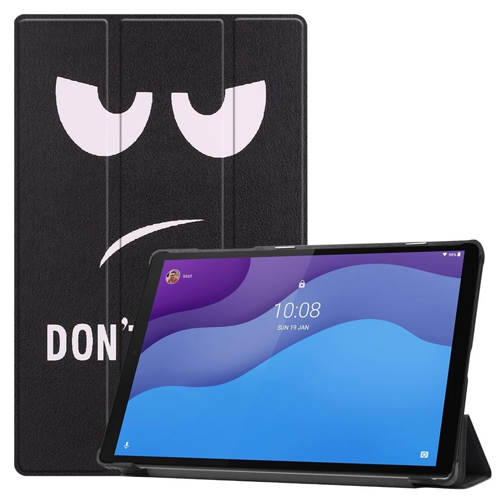 Fodral Tri-fold Lenovo Tab M10 HD (2nd Gen) - Don't Touch Me