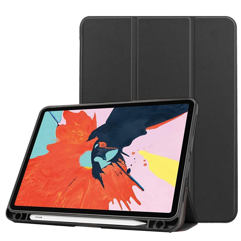 Fodral Tri-fold med Pencil-hållare iPad Air 10.9 2020 svart
