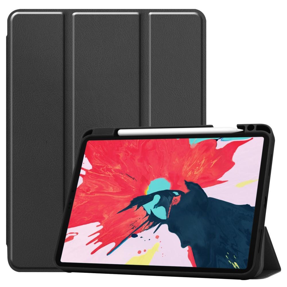 Fodral Tri-fold med Pencil-hållare iPad Pro 11 2018/2020 svart